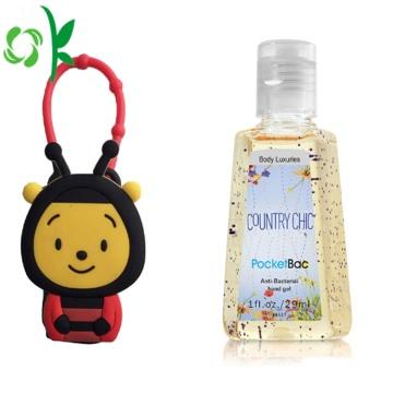 Bee Hand Perfume Cosmetic Bottle Sanitizer Case Holder