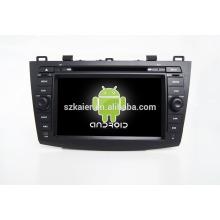 Quad core! Voiture dvd avec lien miroir / DVR / TPMS / OBD2 pour 8 pouces écran tactile quad core 4.4 Android système MAZDA 3
