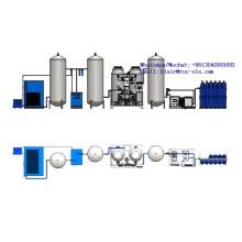Generador de oxígeno industrial Psa