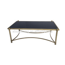 Modern design bedroom furniture coffee table stainless steel end table