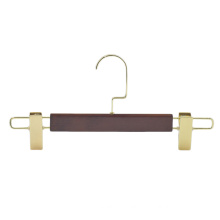 High quality hot sales personality display lotus wooden pant hanger for trousers