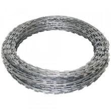 Razor wire barbed wire low price galvanized steel razor wire