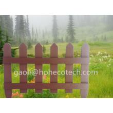 Valla de jardín de vinilo Compuesto de madera de plástico Cercado Rodentfree WPC Barandilla
