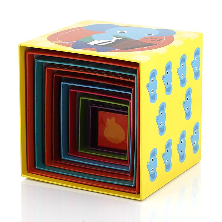 Educational toys Paper Cardboard stacking blocks for kids