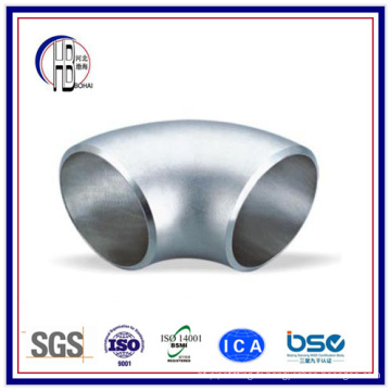 Raccord de tuyau de coude à rayon long de 90 degrés en acier inoxydable
