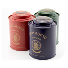 Customized Tea Tin Can Metal Packing From China Factory