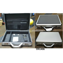 new arrival strong&portable aluminum laptop case from China manufacturer with different color options