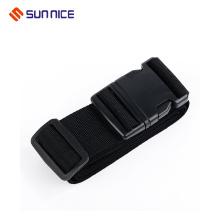 Melhor qualidade cinta de bagagem cruzada com fivela de metal
