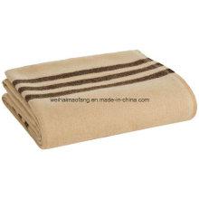 Woven Woollen Virgin Merino Wool Blanket Throw