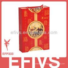 2013 Venda quente delicada caixa de presente da jóia do cartão / saco de empacotamento