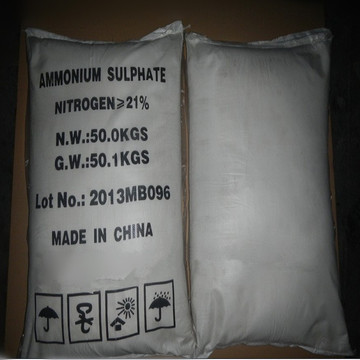 Nitrogen Fertilizer Powder Nyatakan Ammonium sulfat