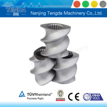 Composant d'extrudeuse matérielle 38crmoala pour machine en plastique Tenda