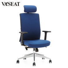 X3-52A-F executive swivel office chair in fabric BIFMA