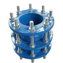 Cuerpo de hierro ductilie con pernos galvanizados Desmontaje de la junta