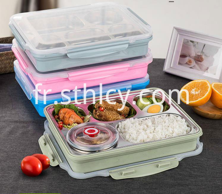 304-Stainless-Steel-Plate-Thermal-Lunch-Box