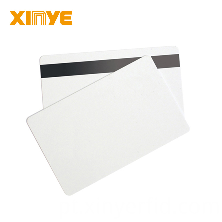 Blank Smart Chip Magnetic Stripe Cards