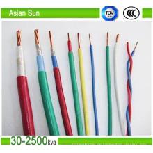 Thw Thhw Xhhw Kupferleiter PVC / XLPE isolierte elektrische Gebäude Draht