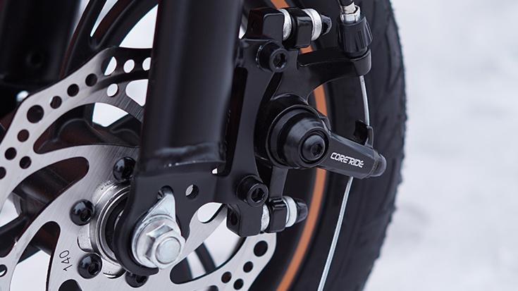D1 Electric Bike Black14