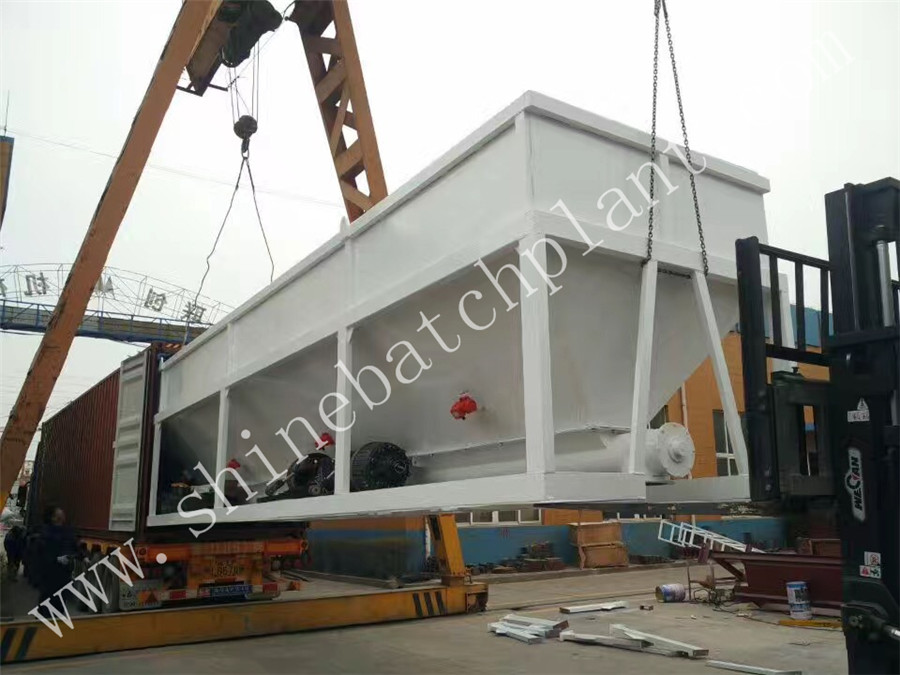 Shipment Concrete Batch Plant 05