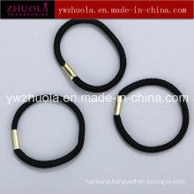 Black Rubber Ponytail Holder Hair Ties
