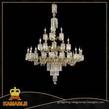 Luxurious Transparent Crystal Chandelier Lighting (MD0819-10+5)