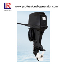 90HP 2 Stroke Outboard Engine with Electric Start, Gasoline Driven