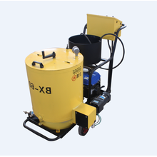 Small portable road repair asphalt crack sealing machine