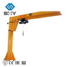 Pilar de pie montado en el suelo Cantilever lift arm crane