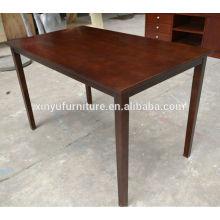 rectangular wooden restaurant table XYN177