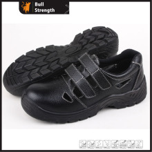 Sandal Leather Safety Shoes with Steel Toe Cap (SN5273)
