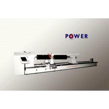 Máquina de perfilagem de rolos de borracha CNC moderna