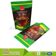 Good Quality Low Price Laminated Stand Up Zipper Reusable Personalized Tea Bags