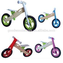 Brinquedos para crianças crianças de madeira alibaba de bicicleta