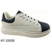 High Platform Casual Shoes for Women with PU Outsole