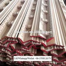 Moulure de corniche de plafond de sculpture sur bois CNC