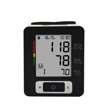 Best Wrist FDA LCD Blood Pressure Monitor 2019