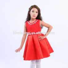 7-10 años, 2-6 años de edad y estilo medio de la longitud Vestido de Pari para la niña