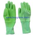 Цветные латексные покрытые милые перчатки для детей