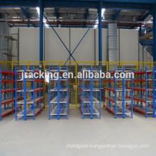 Jracking mental adjustable storage Q345 industrial supermarket bread display rack