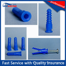 Injection Plastic Expansion Wall Plug Screw Anchor Mold