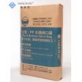 Flat Bottom Zipper Verpackung Valve Bag