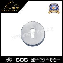 Accessoires de porte Échelle en acier inoxydable avec bouchon de cylindre