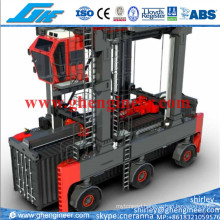 Rubber Tyre Straddle Carrier for Containers