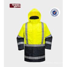 reflective high visibility safety work jacket hi-vis jacketfire resistant safety jacket