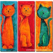 Cat Animal Decorative Oil Painting