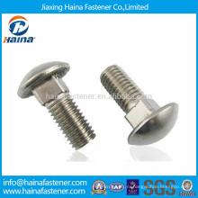 DIN603 в ассортименте 304 нержавеющая сталь круглый болт с квадратной шейкой болта