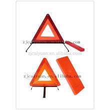 CY Reflector ADVERTENCIA seguridad seguridad coche muestra del triángulo reflectante por mayor, lo que refleja