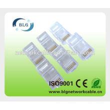 China utp rj45 8p8c plug de conector de rede
