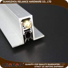 Hohe Qualität Aluminiumboden automatische Türstopper-Dichtung