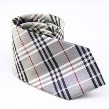 Laços de seda por atacado tecidos feitos à mão do jacquard dos homens da marca própria